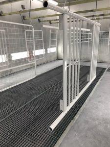 Industrieel spuitwerk Delft